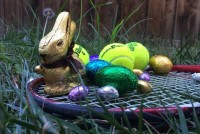 easter-eggs-and-tennis-racket